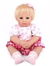 Недорогие -Куклы реборн Принцесса Новорожденный как живой Милый стиль Все Подарок