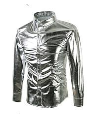 Majica Muškarci - Ulični šik Jednobojni Prugasti uzorak