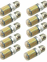 Недорогие -10 шт. 5W 600lm E14 G9 GU10 E26 / E27 E12 LED лампы типа Корн T 128 Светодиодные бусины SMD 2835 Декоративная Тёплый белый Холодный белый