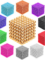 cheap -Magnet Toys Neodymium Magnet Magnetic Balls Buckyballs 216pcs 3mm Magnet Metal Magnetic Sphere Cylindrical Unisex Toy Adults' Gift