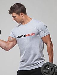 economico -T-shirt Per uomo Basic, Alfabetico