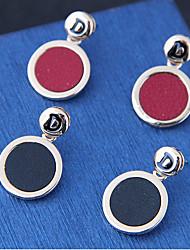 Недорогие -Жен. Серьги-слезки Мода европейский Сплав Круглый Бижутерия Для вечеринок Бижутерия