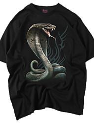 preiswerte -Herrn Tier-Punk & Gothic Street Schick T-shirt
