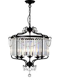 Недорогие -LightMyself™ Тиффани Природа Подвесные лампы Рассеянное освещение - Хрусталь, 110-120Вольт 220-240Вольт Лампочки не включены