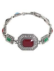 Žene Narukvica Umjetno drago kamenje Vintage Šarene Etnikai Smola Kamen Geometric Shape Jewelry Izlasci Praznik Nakit odjeće