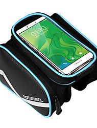 Недорогие -ROSWHEEL Сотовый телефон сумка Бардачок на раму Пригодно для носки Простота установки Велосумка/бардачок Кожа PU полиэстер для печати Велосумка/бардачок Велосумка iPhone X / iPhone XR / iPhone XS