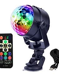 abordables -1set 4W 4 LED Télécommande Lampe LED de Soirée RVB