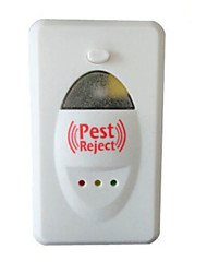 cheap -Mosquito Repeller Rejecter Ultrasonic Pest Electromagnetic Wave Safety Kid Adult Quality Sleep Effective