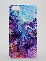 baratos -Capinha Para Apple iPhone 6 Plus iPhone 7 Plus Estampada Capa traseira Mármore Rígida PC para iPhone 7 Plus iPhone 7 iPhone 6s Plus