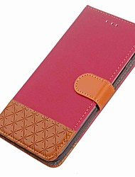 cheap -Case For Huawei Honor 9 Card Holder Wallet with Stand Flip Magnetic Full Body Cases Geometric Pattern Hard PU Leather for Honor 9 Honor 8
