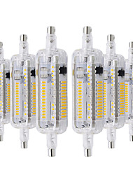 abordables -YWXLIGHT® 6pcs 6W 500-600lm R7S Ampoules Maïs LED 104 Perles LED SMD 3014 Blanc Chaud Blanc Froid Blanc Naturel 110-130V 220-240V