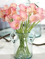 cheap -Artificial Flowers 5 Branch European / European Style Calla Lily Tabletop Flower