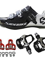 Недорогие -BOODUN® Универсальные Кеды / Обувь для велоспорта / Обувь для шоссейного велосипеда Нейлон и углеродное волокно Велосипедный спорт / Велоспорт Амортизация, Ультралегкий (UL)