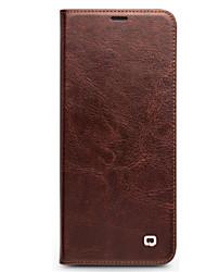 preiswerte -Hülle Für Huawei Honor View 10(Honor V10) Honor V9 Play Stoßresistent Flipbare Hülle Ganzkörper-Gehäuse Volltonfarbe Hart Echtleder für
