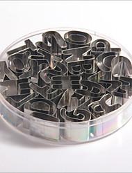 25pcs Nepravilan Čokoladno smeđa Keksi Stainless Steel + A Grade ABS pečenje alat Pie Tools