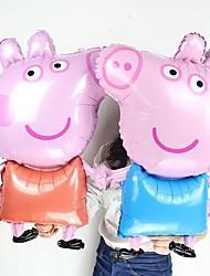Недорогие -День рождения Алюминиевая фольга Свадебные украшения Животный принт Все сезоны