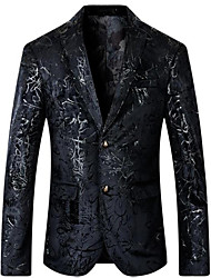 cheap -Men's Street chic Blazer - Solid Colored