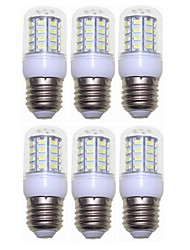 preiswerte -SENCART 6pcs 3W 300 lm E14 G9 GU10 E26/E27 B22 LED Mais-Birnen T 40 Leds SMD 5730 Dekorativ Warmes Weiß Kühles Weiß 110-120V 220V-240V