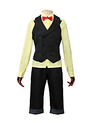 cheap -Inspired by Yuri!!! on ICE Anime Cosplay Costumes Cosplay Suits Other Long Sleeve Cravat / Vest / Shirt For Men's / Women's Halloween Costumes