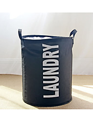 cheap -Fabric Cotton Round Cute Home Organization, 1pc Storage Baskets