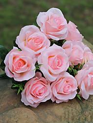 Недорогие -Искусственные Цветы 1 Филиал Европейский стиль Пастораль Стиль Розы Букеты на стол