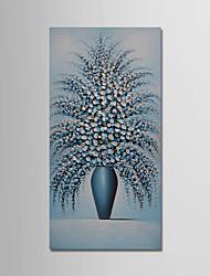 baratos -Pintados à mão Vida Imóvel Vertical, Modern Tela de pintura Pintura a Óleo Decoração para casa 1 Painel