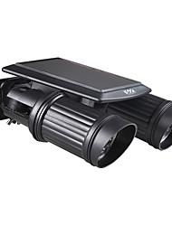 Недорогие -YWXLIGHT® 1шт 7 Вт. Светодиоды на солнечной батарее LED прожекторы Инфракрасный датчик Водонепроницаемый Уличное освещение Тёплый белый