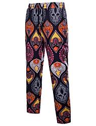 abordables -Homme Femme Chinoiserie Bohème Grandes Tailles Droite Chino Pantalon Géométrique Motif Animal