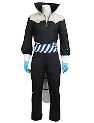 abordables -Inspiré par Série Persona Autre Manga Costumes de Cosplay Costumes Cosplay Autre Manches Longues Manteau Collant / Combinaison Gants