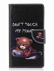 baratos -Capinha Para Sony Xperia XA2 Ultra / Xperia L2 Carteira / Porta-Cartão / Com Suporte Capa Proteção Completa Palavra / Frase Rígida PU Leather para Xperia XA2 Ultra / Xperia XA2 / Xperia XZ1 Compact