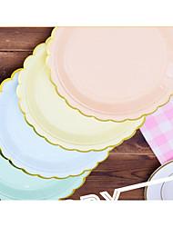Недорогие -День рождения Партия Посуда - Сковорода Оборки Плотная бумага День рождения