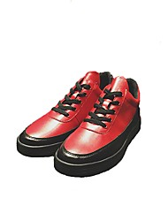 cheap -Men's PU(Polyurethane) Spring Comfort Sneakers Red / Blue