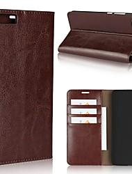 economico -Custodia Per Xiaomi Redmi Nota 5A Mi 6 Plus Porta-carte di credito A portafoglio Resistente agli urti Con supporto Integrale Tinta unica