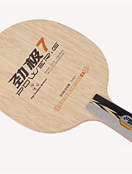 Недорогие -DHS® POWER.G7 CS Ping Pang/Настольный теннис Ракетки Пригодно для носки Против скольжения деревянный 1