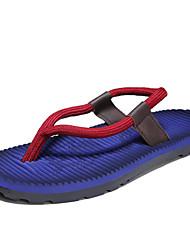 cheap -Men's Shoes Nylon Summer Comfort Slippers & Flip-Flops for Casual Blue Light Brown Burgundy
