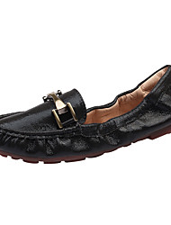 povoljno -Žene Cipele Mikrovlakana Proljeće Ljeto Mokasine Udobne cipele Natikače i mokasinke Ravna potpetica Zatvorena Toe Okrugli Toe za Kauzalni