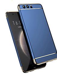 abordables -Coque Pour Huawei P20 Pro P20 Plaqué Dépoli Coque Couleur Pleine Dur PC pour Huawei P20 lite Huawei P20 Pro Huawei P20 P10 Plus P10 Lite