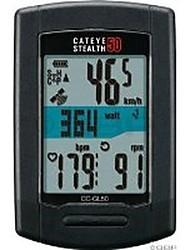 baratos -CatEye® Stealth 50 CC-GL50 Computador de Bicicleta GPS Cronómetro Prova-de-Água Sem Fio ANT + Velocímetro Exterior Ciclismo
