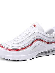 Недорогие -Муж. Тюль Весна / Осень Удобная обувь Спортивная обувь Для прогулок Белый / Черный / Серый