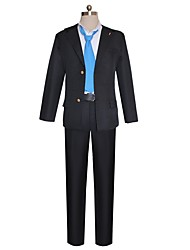 cheap -Inspired by Dangan Ronpa Cosplay Anime Cosplay Costumes Cosplay Suits Other Long Sleeves Coat Shirt Pants More Accessories Tie For Unisex