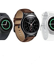 preiswerte -Uhrenarmband für Gear S2 Classic Samsung Galaxy Lederschlaufe Leder Handschlaufe