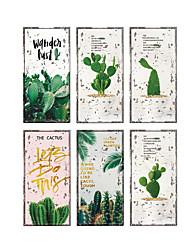 Недорогие -Декоративные наклейки на стены - 3D наклейки Наклейки для животных Цветочные мотивы / ботанический Гостиная Спальня Ванная комната Кухня