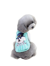 cheap -Pets Sweatshirt Hoodie Baseball Dog Clothes Word / Phrase Cartoon Toile Green Blue Pink Padded Fabric Costume For Pets Animals Simple
