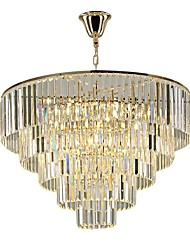 cheap -QIHengZhaoMing Crystal Chandelier Ambient Light - Crystal, 110-120V / 220-240V, Cold White, Bulb Included / 15-20㎡