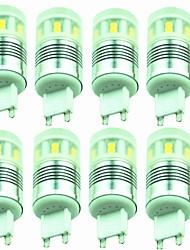 Недорогие -8шт 3W 200lm G9 Двухштырьковые LED лампы T 20 Светодиодные бусины SMD 2835 Декоративная Тёплый белый Холодный белый 220-240V