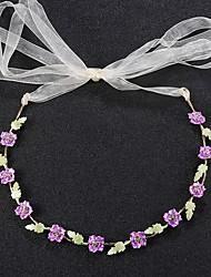 abordables -Brillante Legierung Vestimenta de Cabeza with Cinta / Lazo Cristal / Cristal 1pc Boda Cumpleaños Celada