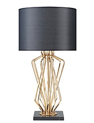 cheap -Artistic Decorative Table Lamp For Metal White / Black