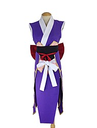 cheap -Inspired by Fairy Tail Erza Scarlet Anime Cosplay Costumes Cosplay Suits Other Sleeveless Belt Bow More Accessories Sash / Ribbon Kimono