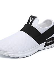 abordables -Homme Tricot / Maille Printemps été Confort Basket Blanc / Noir / Gris