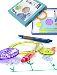 Недорогие -Игрушка для рисования Классика Живопись утонченный Новый дизайн Мягкие пластиковые Все Подарок 1pcs
